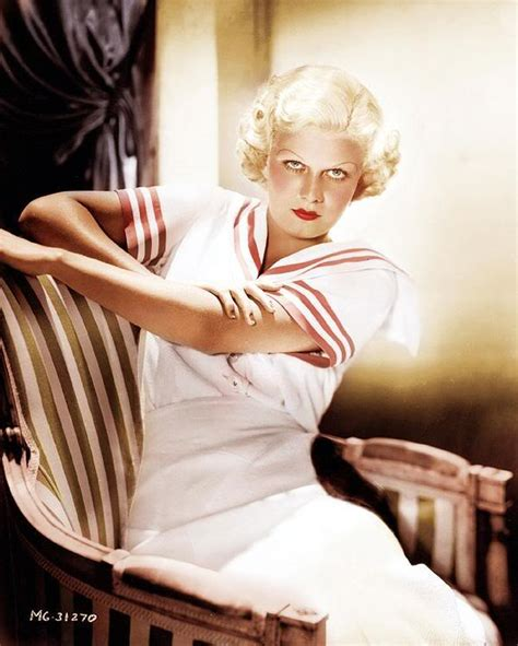 A Mythical Monkey Writes About The Movies Best Actress Of Comedy Musical Jean Harlow