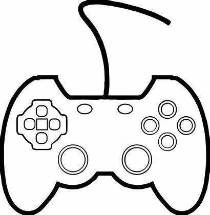 Coloring Xbox Pages Controller Games Drawing Printable
