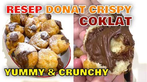 Salah satu kunci rahasianya, kamu harus mencampur. Resep Donat Crispy Empuk Viral Isi Luber Tanpa Ulen Tanpa ...