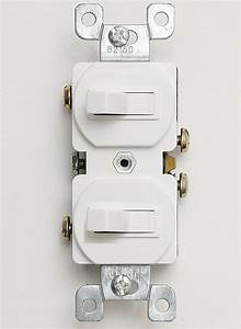 Double Toggle Switch 15 Amp 120 Volt Stacked Toggle Switch