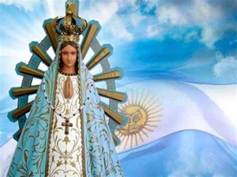 Miguel Saredi en el día de la Virgen de Luján: