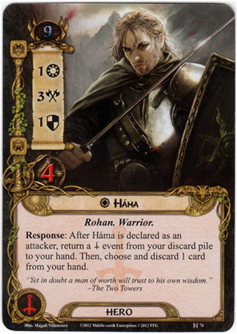 lotr lcg deck builder guest spotlight trained for war unlocking the potential