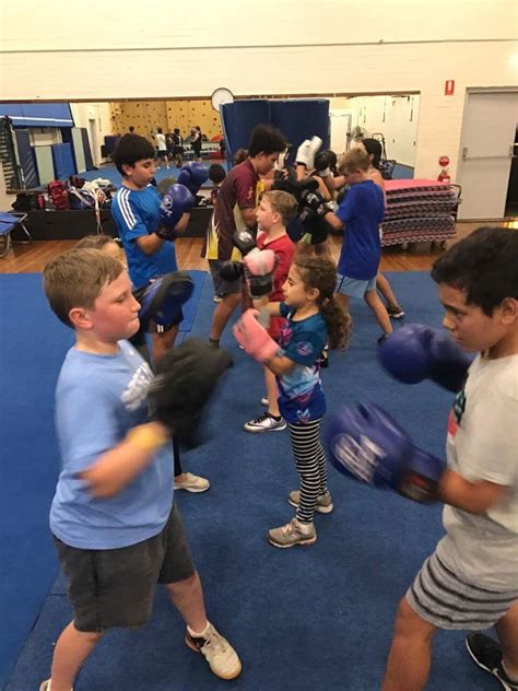 kids boxing lessons nasari boxercise