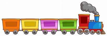 Train Clipart Choo Cartoon Trains Clip Toy