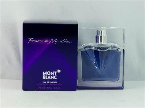 parfum mont blanc femme mont blanc femme de montblanc eau de parfum 75ml damaged box ebay