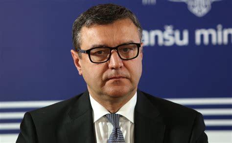 Finanšu ministrs Jānis Reirs: VID vadība nedrīkst slēpt no ...