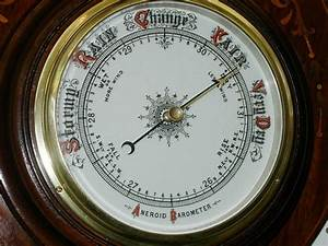 Inlaid Aneroid Barometer – JohnCowderoyAntiques.co.uk