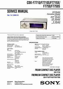 Sony Cdx S2000 Wiring Diagram Sony Cdx Gt350mp Wiring