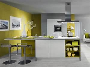Couleur Pour Salle A Manger : couleurs de murs tendance ~ Teatrodelosmanantiales.com Idées de Décoration