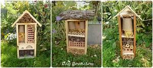 Nichoir A Insecte : hotel insectes jardin recup lily bouticlou nichoirs ~ Premium-room.com Idées de Décoration