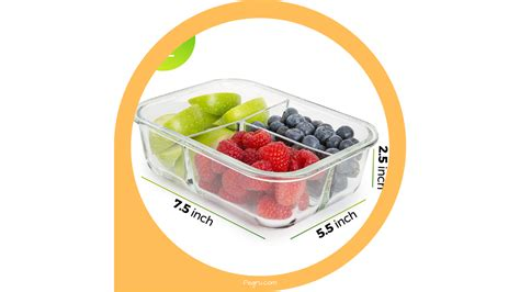 prep meal glass containers