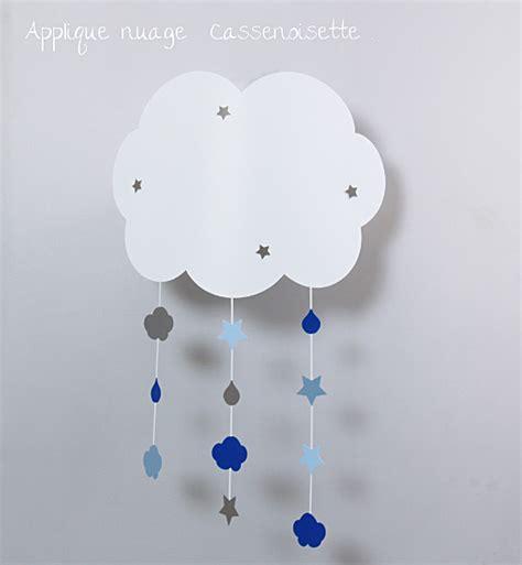 luminaire chambre fille applique nuage bb pour rver fabrique casse noisette