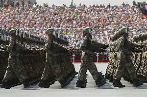 Chinese military parade celebrates end of World War II ...