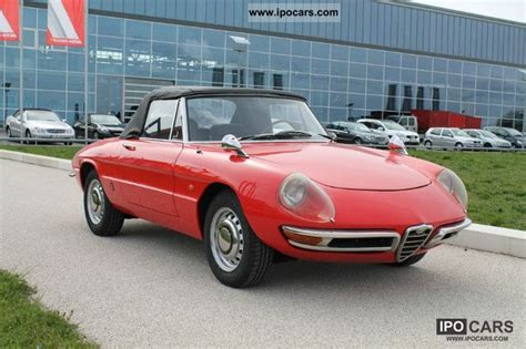 1968 Alfa Romeo Duetto  Information And Photos Momentcar