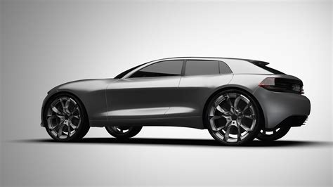 audi  design study offers  taste   model carscoops