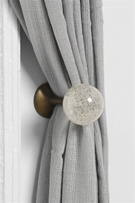 curtain tie back pins decorate the house with beautiful