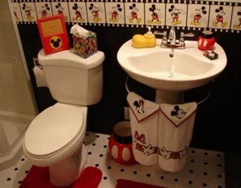 Mickey Mouse Bathroom Wall Decor by Decoraci 243 N De Ba 241 Os Para Ni 241 Os