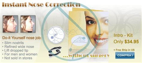 Nosesecret Instant Nose Up Correction Without Surgery Kit