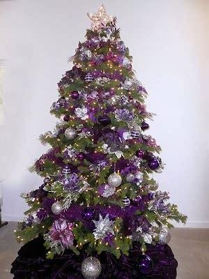fotos de arboles de navidad color violeta colores en casa