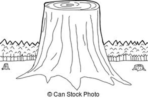 tree trunk clipart black and white isolated tree trunks three isolated cut tree