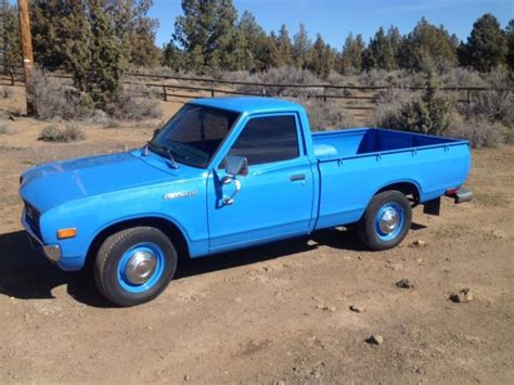 1976 Datsun Truck by Datsun Other Standard Cab 1976 Blue For Sale