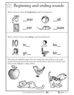 worksheets  kindergarten images kindergarten