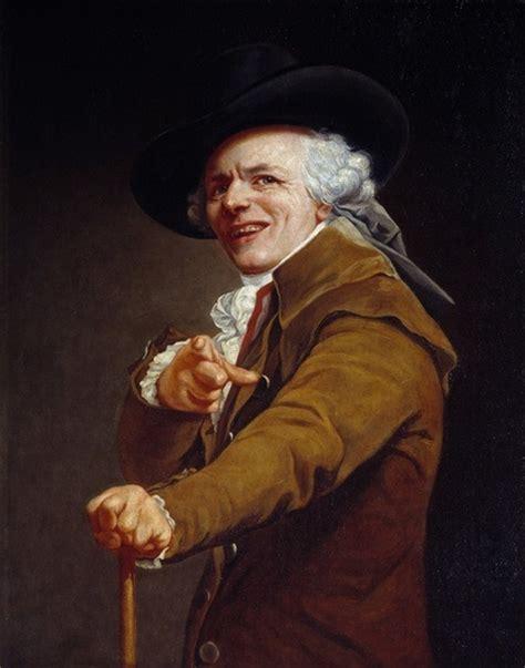 joseph ducreux painting selfies    cool