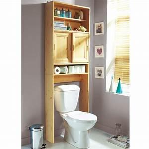 Meuble De Rangement Wc : meuble de rangement lavandou pin frais de traitement de commande offerts acheter ce ~ Teatrodelosmanantiales.com Idées de Décoration