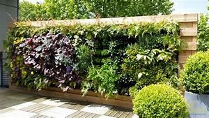Mur Végétal En Palette : 10 id es de d coration pour vos palettes en bois astuces en ligne ~ Melissatoandfro.com Idées de Décoration