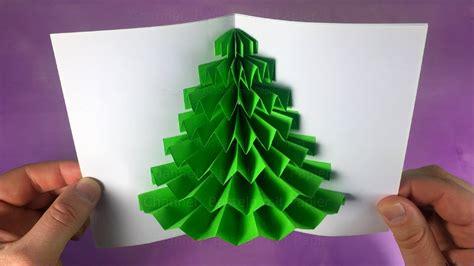 weihnachtskarten basteln anleitung pop up weihnachtskarten basteln mit papier diy geschenke weihnachten selber machen