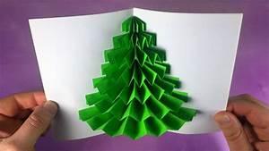 Pop Up Weihnachtskarten : pop up weihnachtskarten basteln mit papier diy geschenke weihnachten selber machen youtube ~ Frokenaadalensverden.com Haus und Dekorationen
