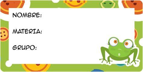 Etiquetas para marcar cuadernos y libros Frases