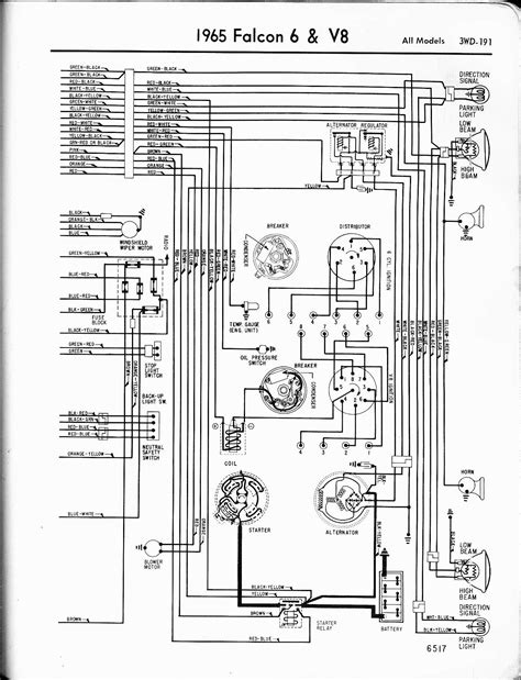 1964 Thunderbird Stereo Wiring Diagram by 1965 Ford Falcon Wiring Diagram Wiring Diagram
