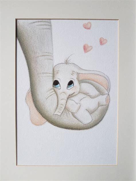 dawanda bild gemalt zeichnung kreide pastel baby