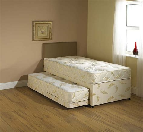 pull out mattress white 3 in 1 guest bed pull out trundle with
