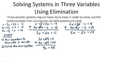 systems of equations with 3 variables word problems worksheet systems of linear equations in three variables ck 12