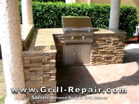 backyard built custom outdoor kitchen pictures with solaire infrared