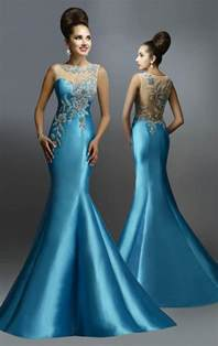 designer evening dresses new arrival 2015 mermaid evening dresses with sheer backless pageant gowns