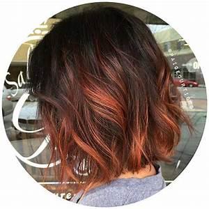 Ombré Hair Cuivré : 20 wundersch ne kurzhaarfarbe ideen smart frisuren ~ Melissatoandfro.com Idées de Décoration
