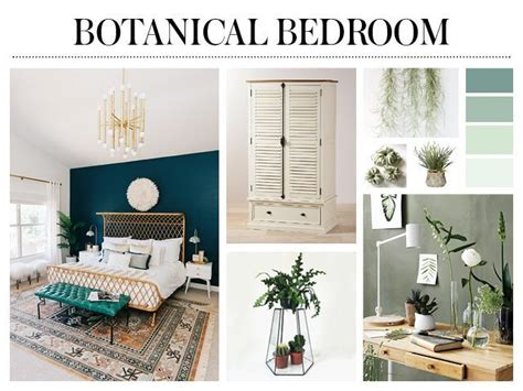 botanical design bedroom ideas   good homes