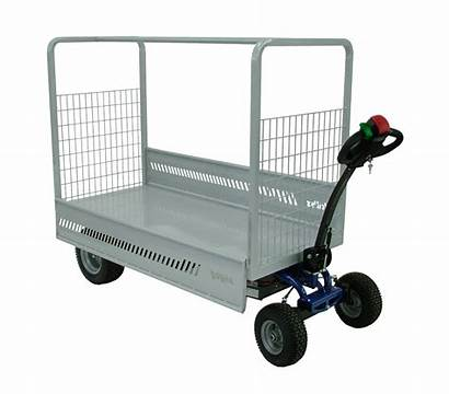 Trolley Electric Platform Motorised Zallys Motorized Material