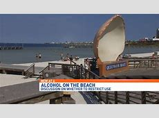 Commissioners discuss alcohol ban on Pensacola Beach WEAR