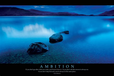 Ambition - new poster Poster   Sold at Abposters.com