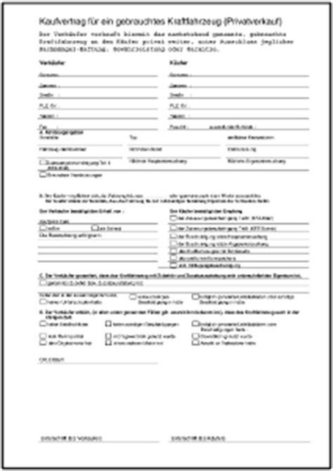 kaufvertrag gebrauchtes motorrad privat formulare gratis