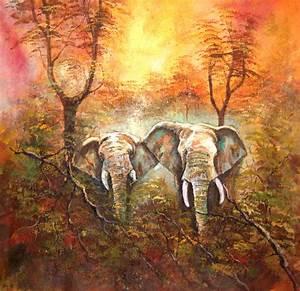 Buy Good morning Handmade Painting by Ram Achal Code:ART