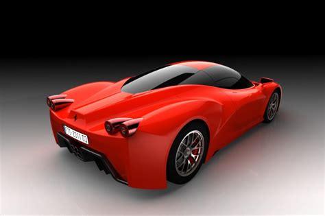 ferrari supercar ferrari f70 supercar diseño especulativo