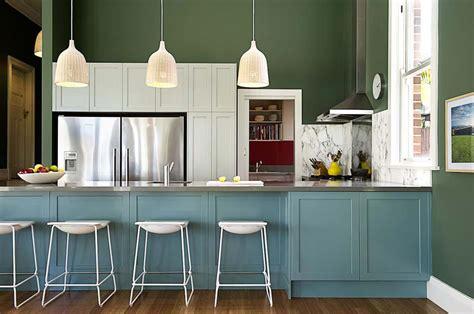 cuisine 2 couleurs couleurs agréable pour une cuisine déco moderne et