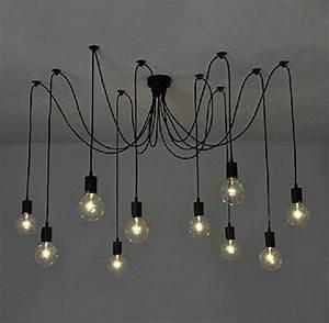 Luminaire Style Industriel : suspension industrielle 25 luminaires pour illuminer votre int rieur ~ Teatrodelosmanantiales.com Idées de Décoration