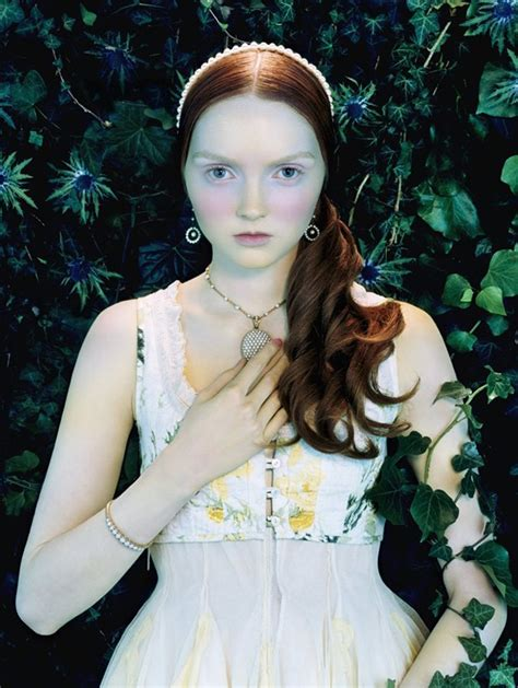lily cole british vogue like a painting lily cole by miles aldridge for vogue