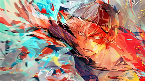 Shoto Todoroki My Hero Academia, Hd Anime, 4k Wallpapers